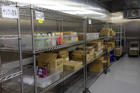JAL機内食工場