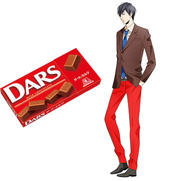 最もイケメンなチョコに選ばれた「ダース<ミルク>」