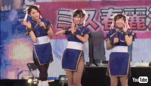流れ星瀧上さん、佐藤かよさん、倉持由香さん、日野麻衣さんの春麗