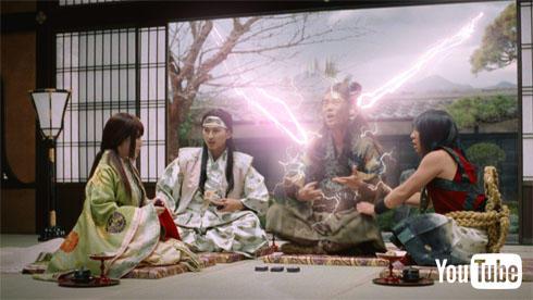 三太郎シリーズ「ダブルショック」篇