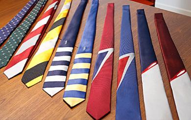 22種類の個性的なネクタイをラインアップ