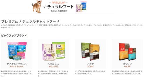 Amazonに猫用品ストア誕生