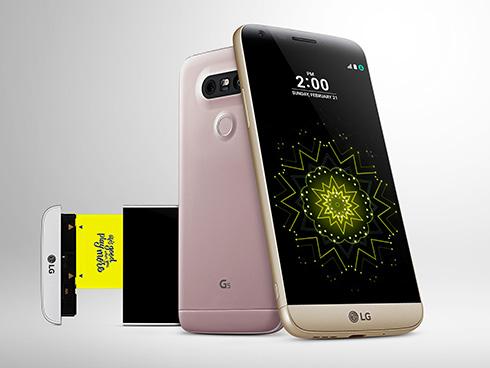 「LG G5」