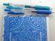 プロの仕業ここにあり 2色のボールペンと定規だけで描いた幾何学模様の美しさにTwitter民どよめく