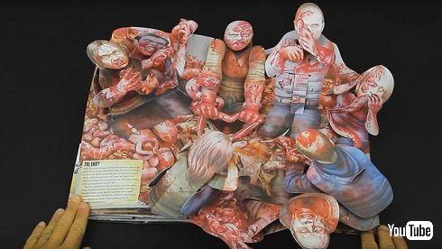 「ウォーキング・デッド」飛び出す絵本でゾンビの群れ