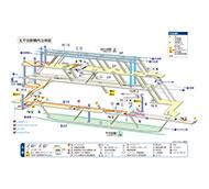 東京メトロ 北千住駅 構内図