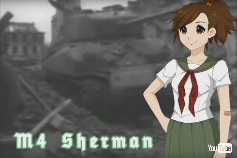 Panzermadelsトレイラー「M4 Sherman」