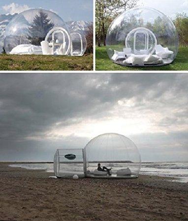 Amazonで透明テント