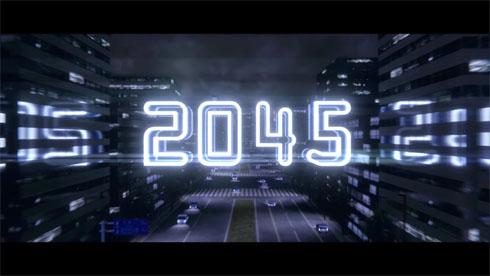 「2045」タイトル画面