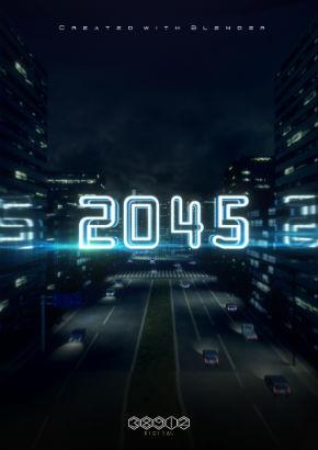 「2045」ポスター