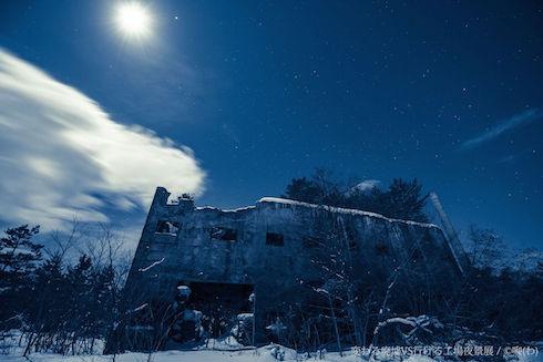 廃墟VS工場夜景写真展