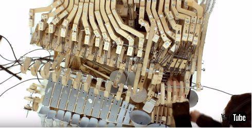 機械仕掛けの楽器Marble Machine