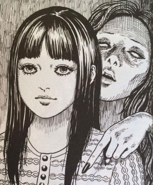 「耳擦りする女」(伊藤潤二)
