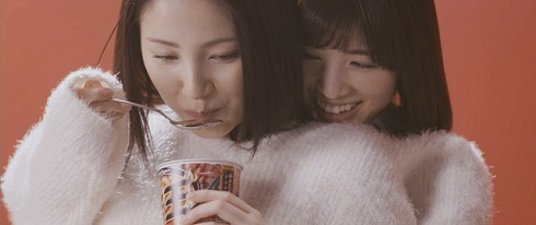 「辛萌え」吉川友&仙石みなみ・強制密着二人羽織編