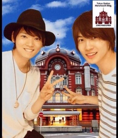 古川雄輝さんと神木隆之介さんの2ショットプリクラ