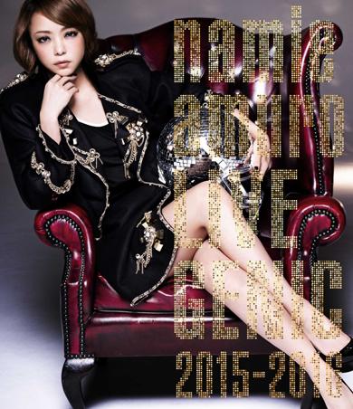 「namie amuro LIVEGENIC 2015-2016」BD版ジャケット