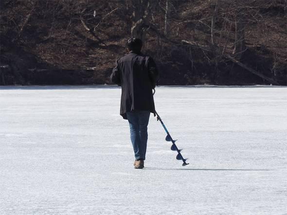 「釣れますか?」arrowsでワカサギ釣り