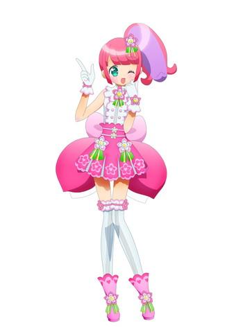 新キャラクター「かのん」ラブリー系の王道アイドル