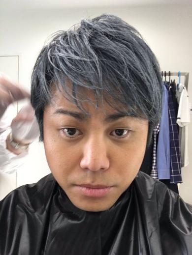 銀髪のノンスタ井上さん
