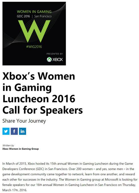 Women in Gaming Luncheon