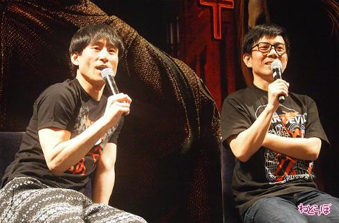 「デアデビル」シーズン2上映イベントのなだぎ武さんと竹若元博さん