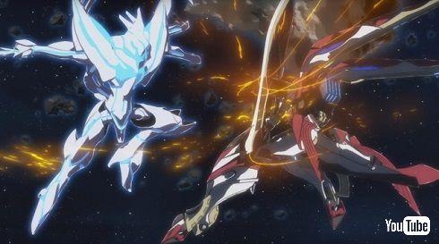 「銀河機攻隊マジェスティックプリンス」戦闘シーン