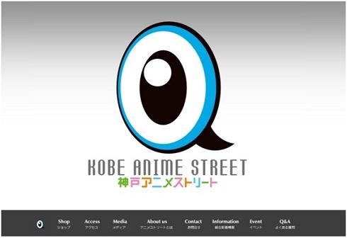 神戸アニメストリート