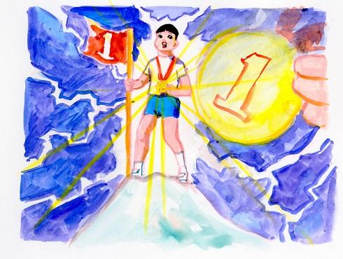 「金メダル男」連載で挿絵を担当する五月女ケイ子