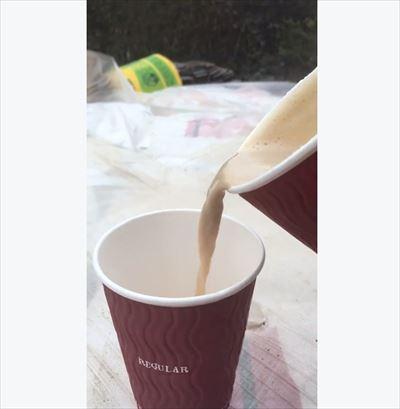 コーヒーLサイズMサイズ