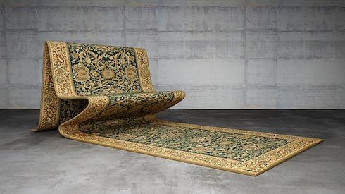 絨毯みたいなチェア