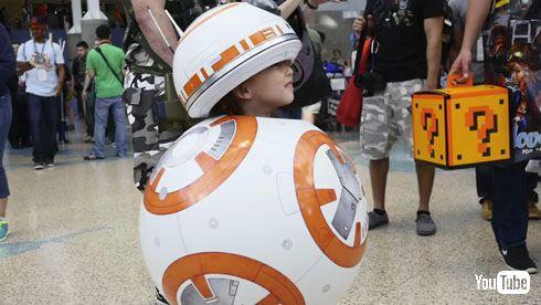 BB-8コスプレ