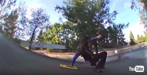 リッチー・ジャクソンさんのスケートボードテクニック