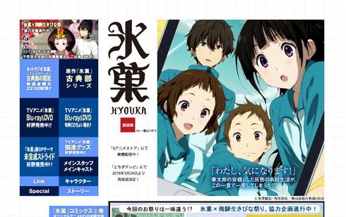 テレビアニメ「氷菓」公式サイト