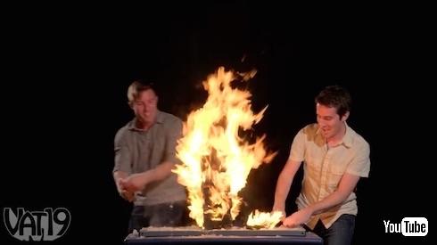 炎のジェンガ