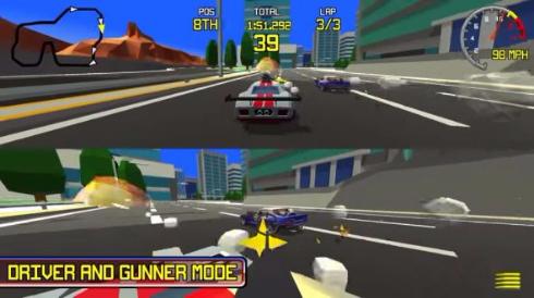 ポリゴンレースゲームRacingApex