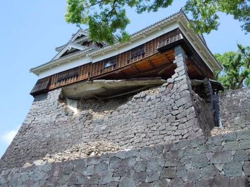 熊本城の災害復旧支援金専用口座が開設