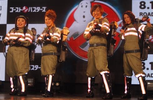 「ゴーストバスターズ」日本語吹き替え版主題歌発表会