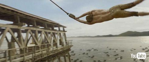 「ターザン:REBORN」ターザンのロープアクション