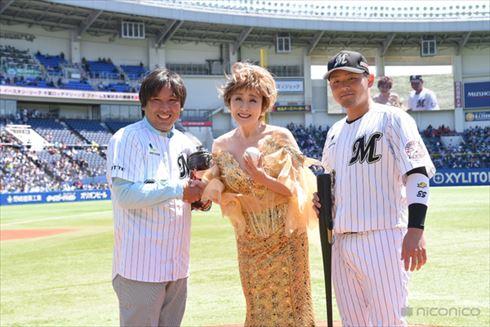 小林幸子始球式
