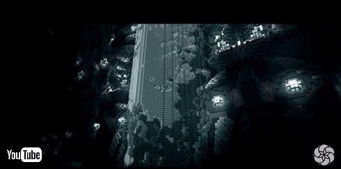 マイクラで表現したギーガー