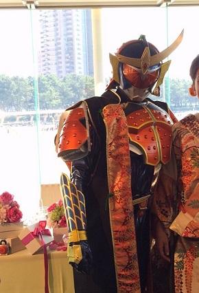 ライダー結婚式