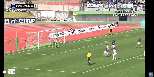 ゴールを決めたら桜島が噴火しちゃったよ! 鹿児島ユナイテッドFCの試合で衝撃的な祝砲が上がる