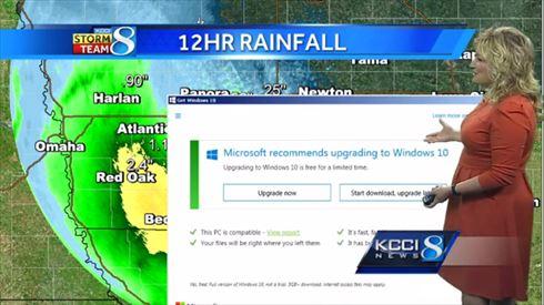 天気予報Windows10