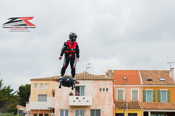 Flyboard Airでのギネス新記録挑戦