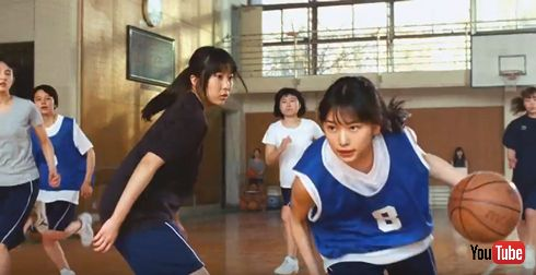 8x4 BODY FRESH クールデオドラント 桜井日奈子 バスケシーン