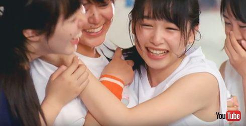 8x4 BODY FRESH クールデオドラント 桜井日奈子 部室シーン