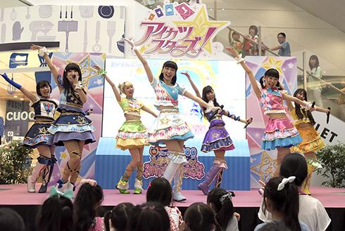 AIKATSU☆STARS!ミニライブの様子