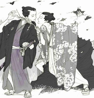 「男色大鑑-歌舞伎若衆編-」