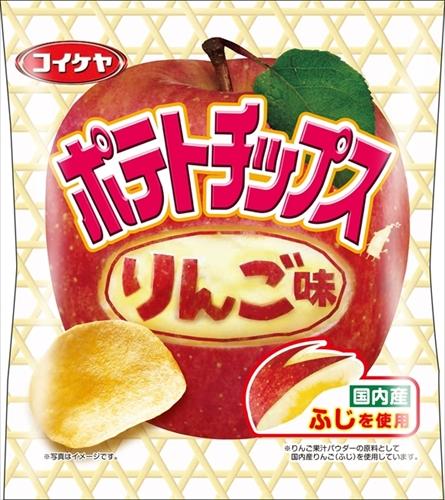 湖池屋 ポテトチップス りんご味