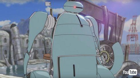 「ひるね姫」変形ロボット